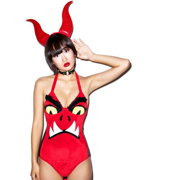 J Valentine Little Devil Costume