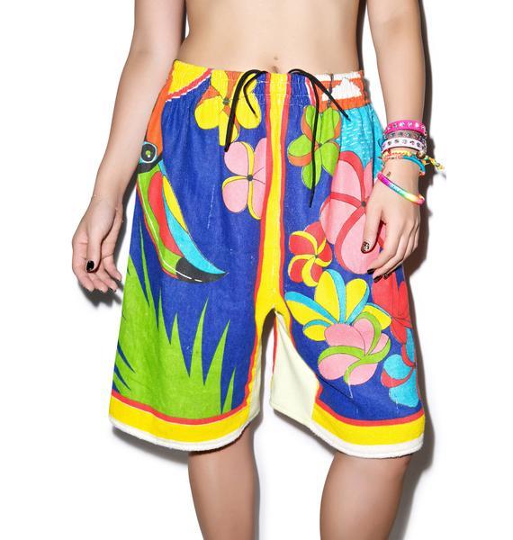 Mamadoux Towel Shorts