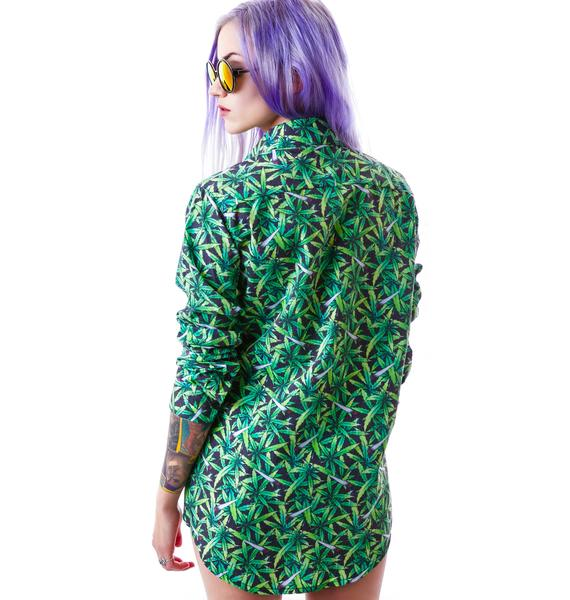 UNIF Weed Shirt