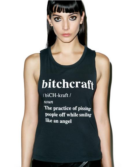 Bitchcraft Muscle Tank