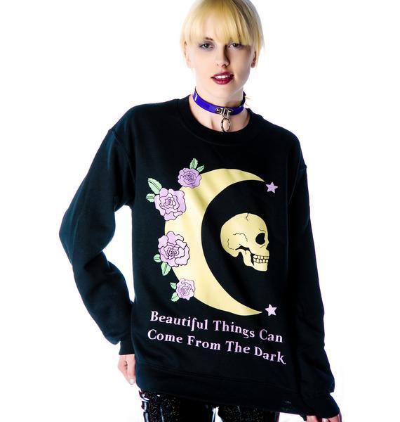 Jac Vanek Beautiful Things Crew Sweatshirt