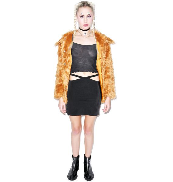 Thong Strap Skirt