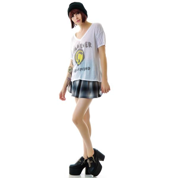 Junk Food Clothing Whatever Nevermind Tee