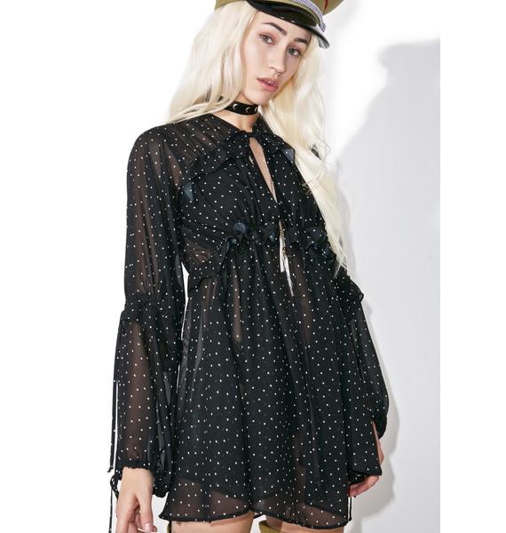 For Love & Lemons Truffles A-Line Dress