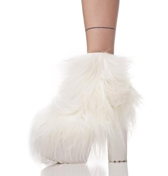 Current Mood Fluffer Light-Up Boots