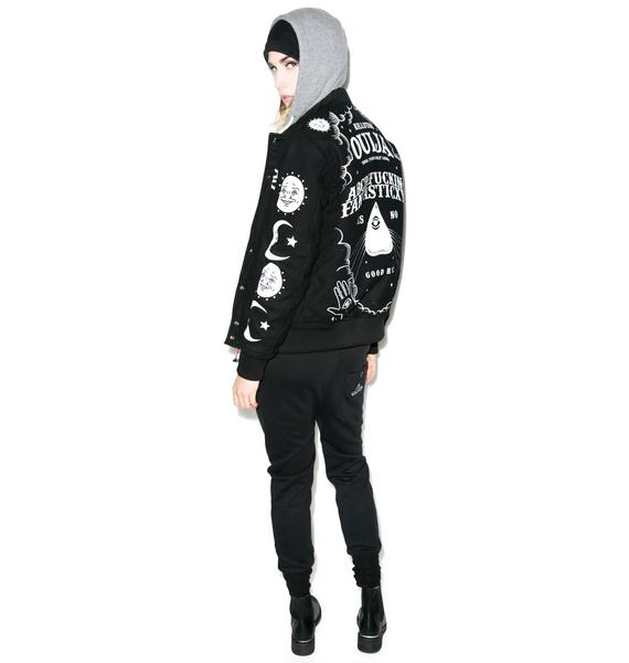 Killstar Ouija Wool Jacket