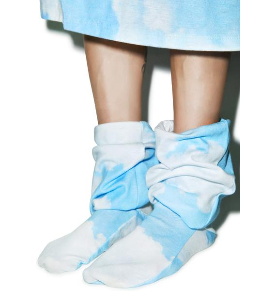 Wildfox Couture Stairway To Heaven Fox Sox