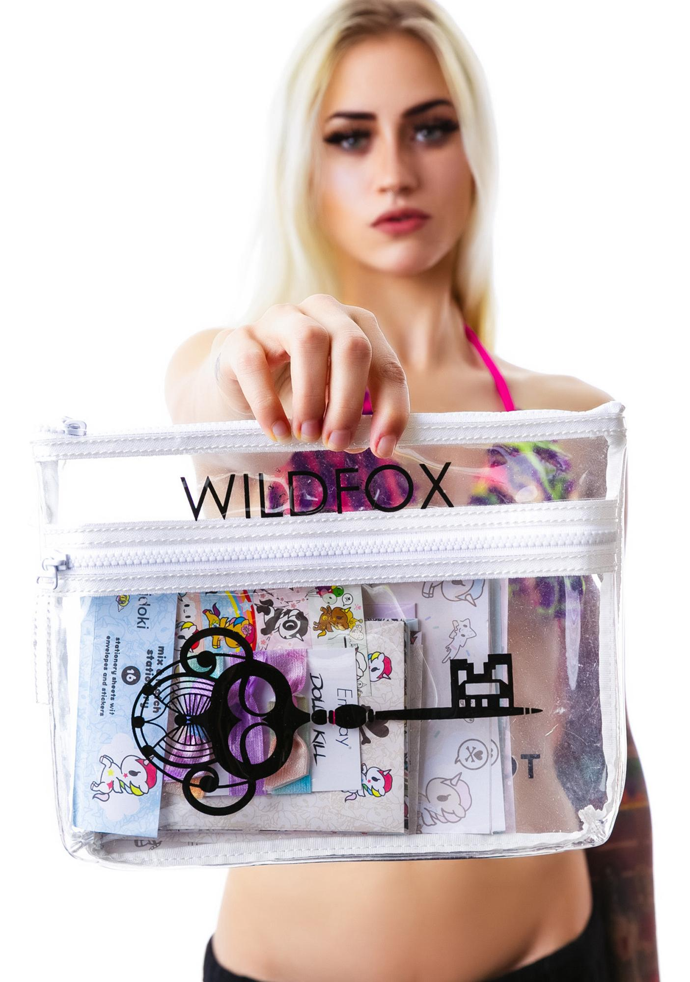 Wildfox Couture Secret Garden Kitten Clutch