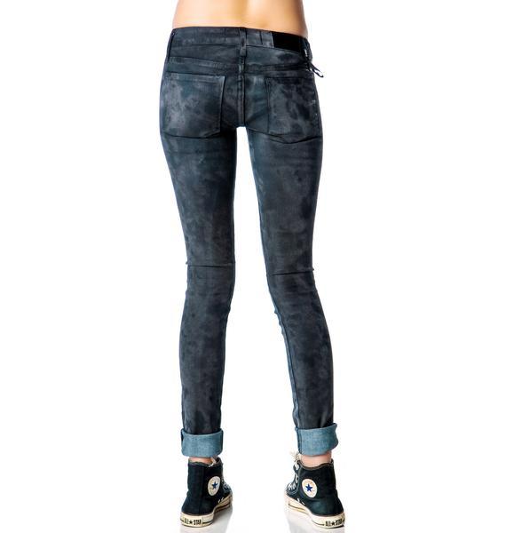 Kill City Vegan Suede Junkie Fit Jeans