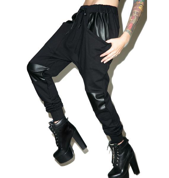 Widow Resurrection French Terry Drop Crotch Pants