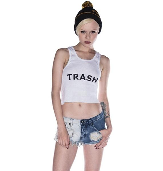 One Teaspoon Domino Trashwhores Shorts