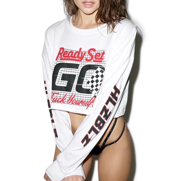 HLZBLZ Ready Set Go Long Sleeve Crop