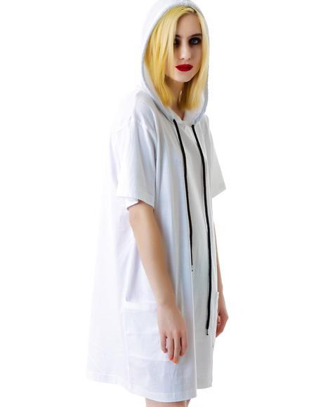 Hooded Tee Shirt