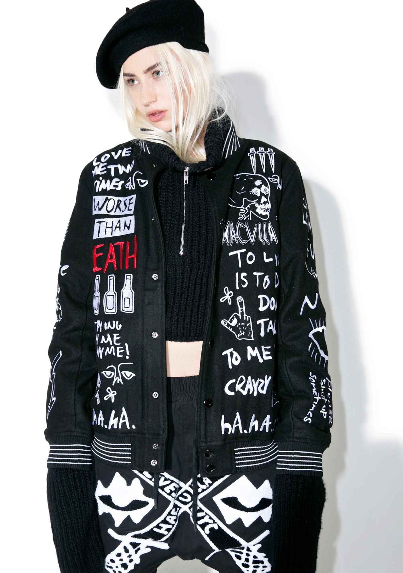 Haculla Collective Varsity Jacket
