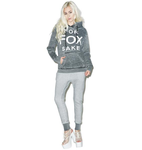 Wildfox Couture For Fox Sake Cuddles Hoodie