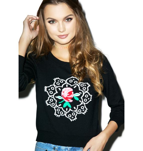 Iron Fist Ring Around the Rosie Sweater
