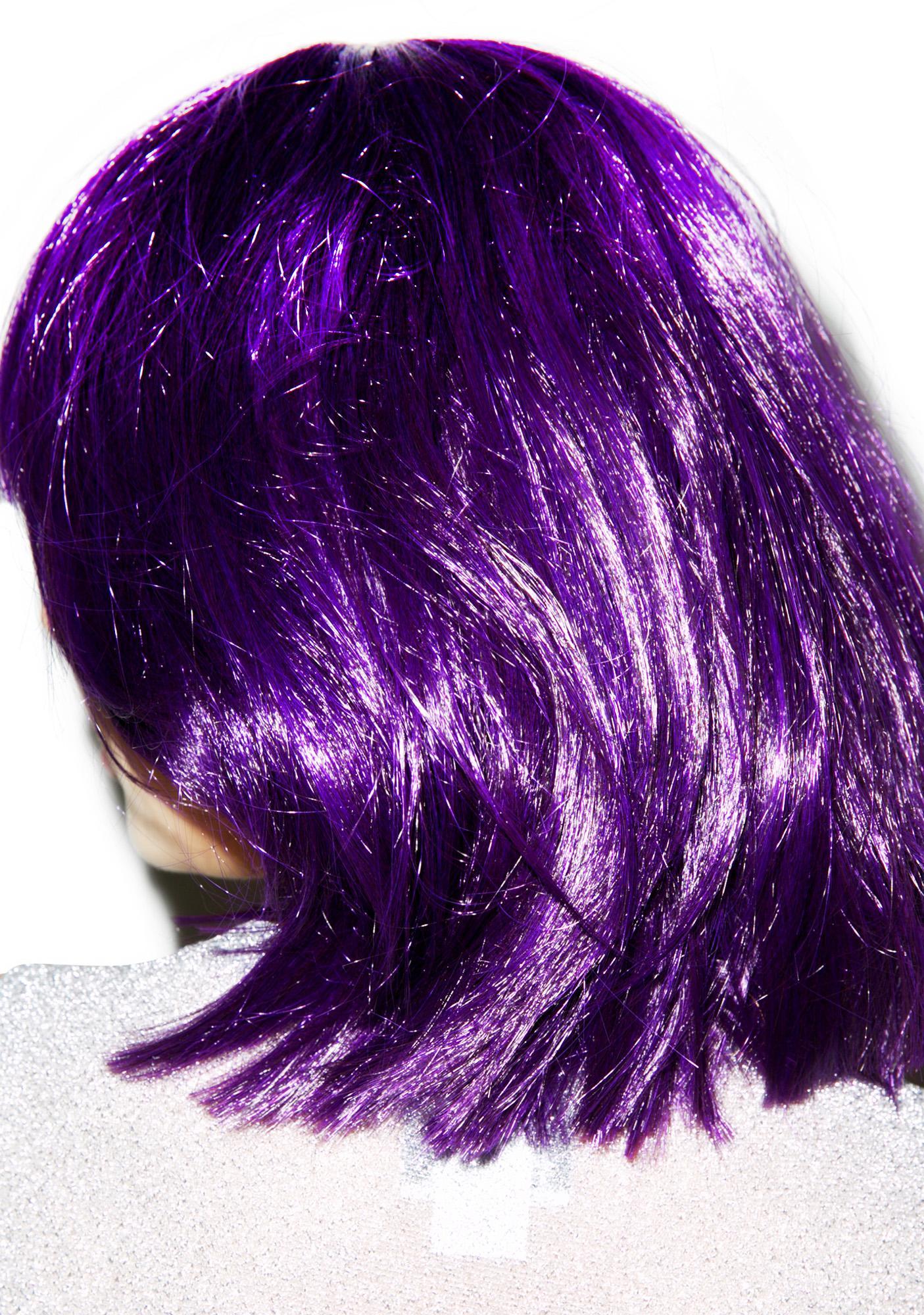 Purple Reign Wig