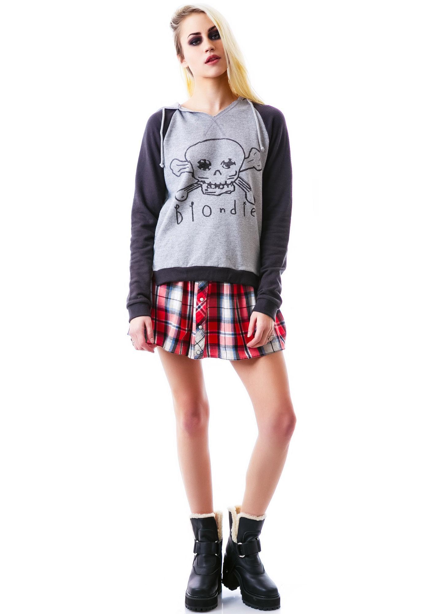 Junk Food Clothing Blondie Pullover Sweatshirt
