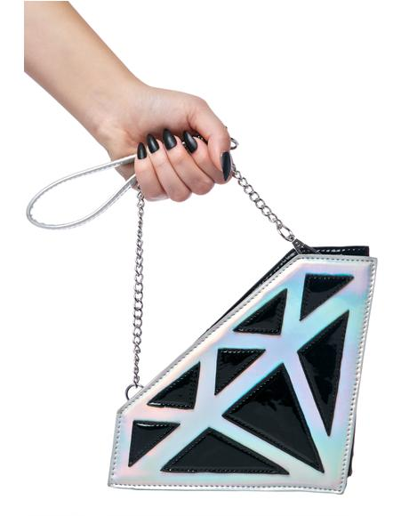 Diamond Crush Clutch