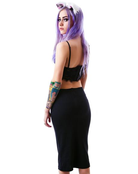Kitty Pencil Skirt
