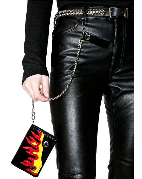 Heated Moment Chain Wallet