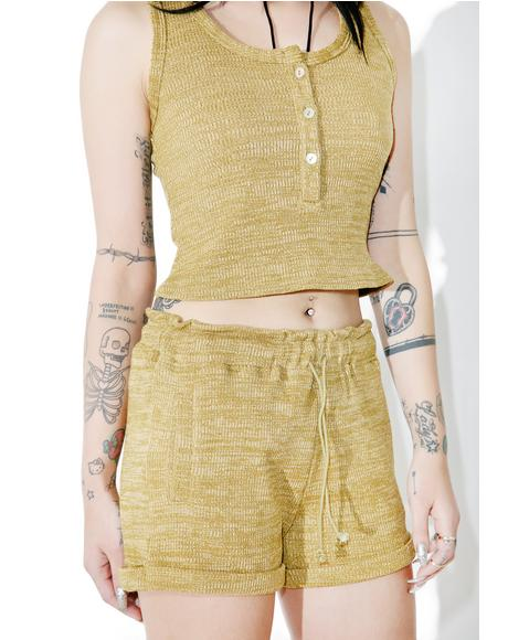 Lili Ribbed Shorts