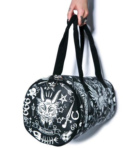 Too Fast Tattoo Buffalo Duffle Bag