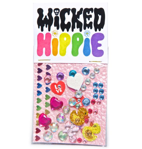 Wicked Hippie Ducky Face Jewelz