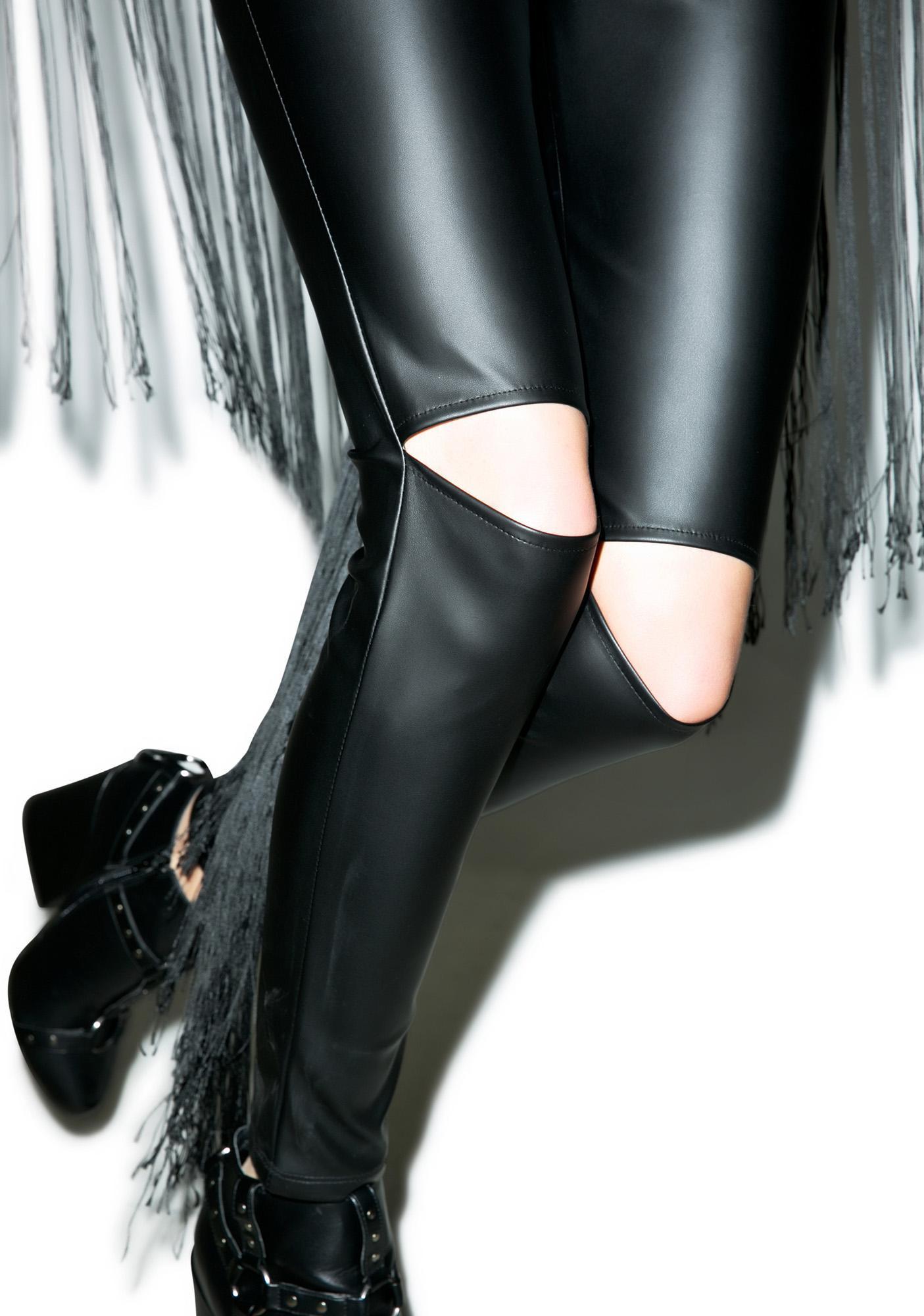 Donda Cut-Out Leggings