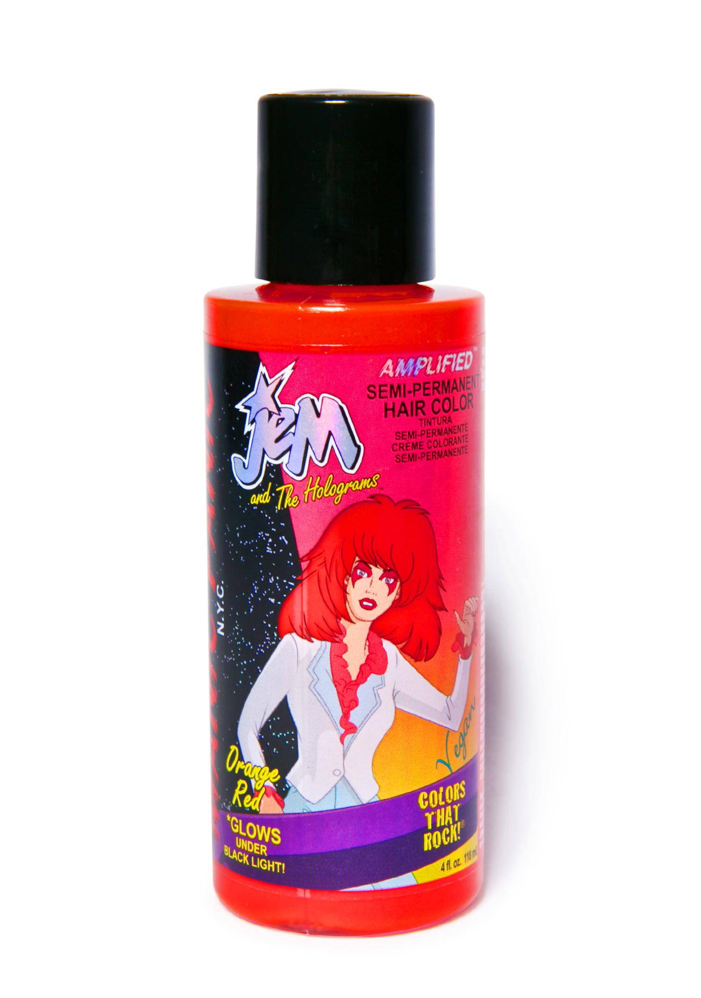 Manic Panic JEM Amplified Orange-Red Hair Dye