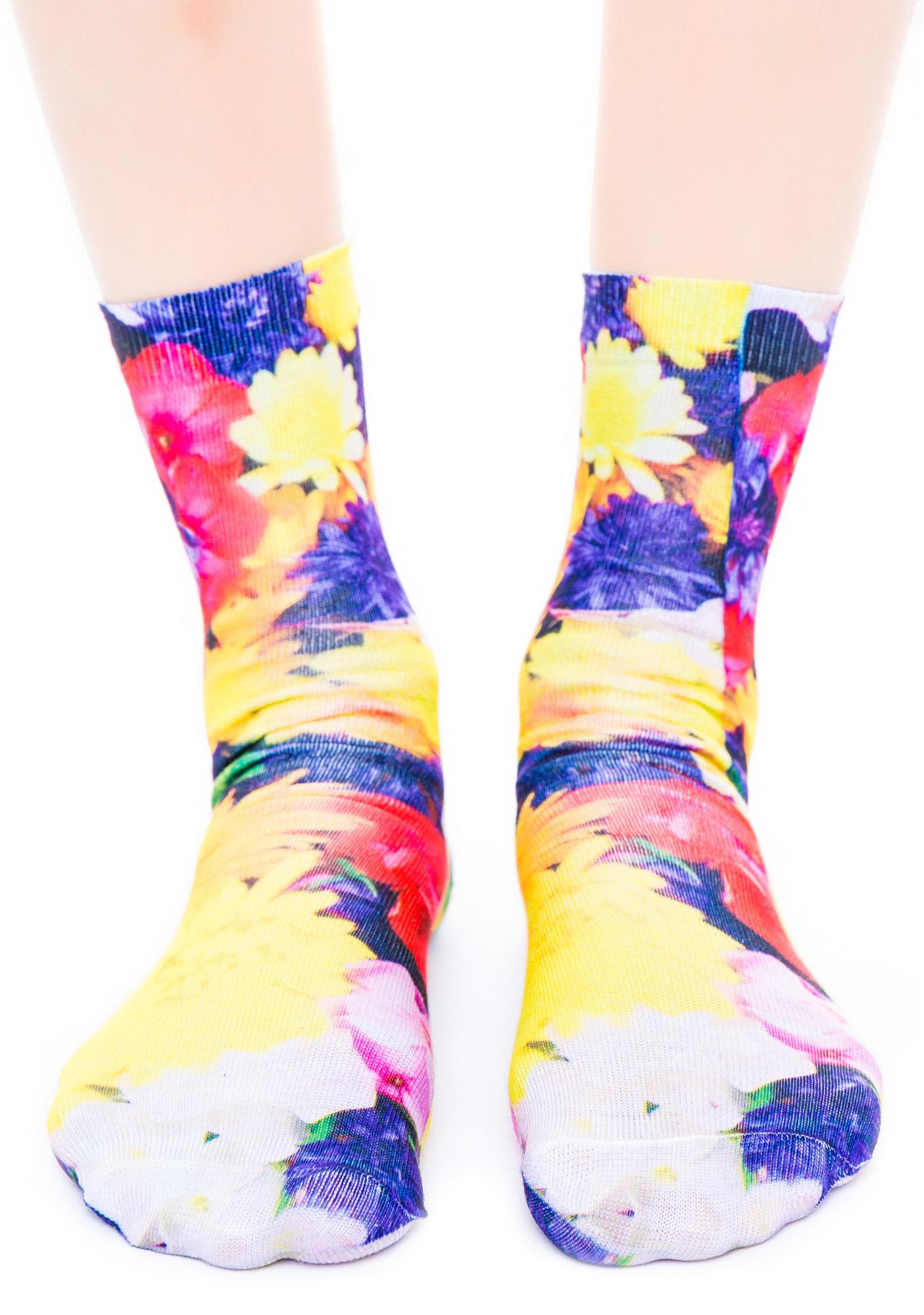 Botanical Garden Socks