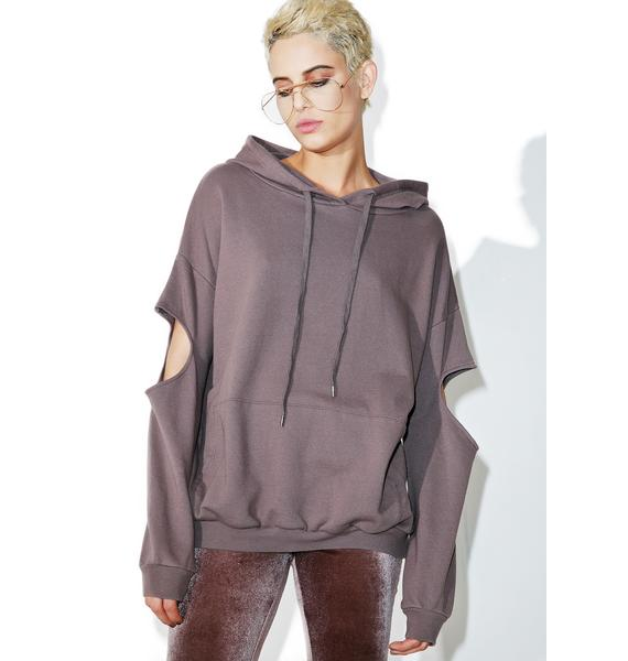 Fade Cut-Out Hoodie