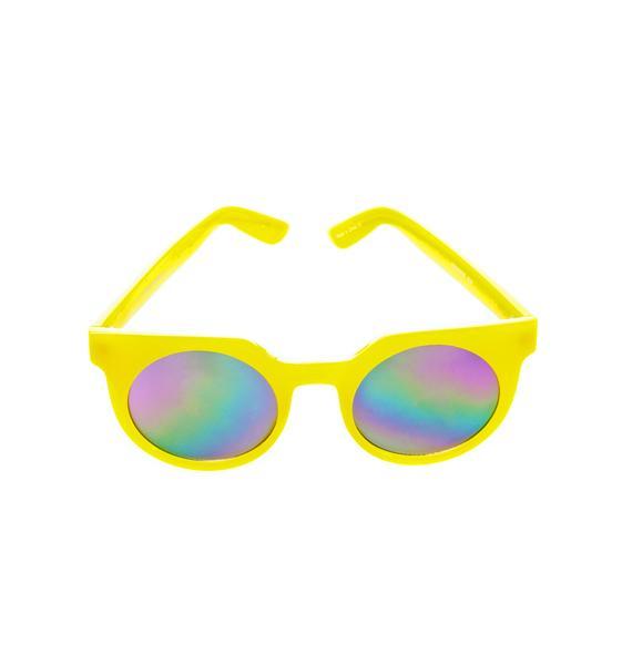 Quay Eyeware Lemonade Frankie Sunglasses