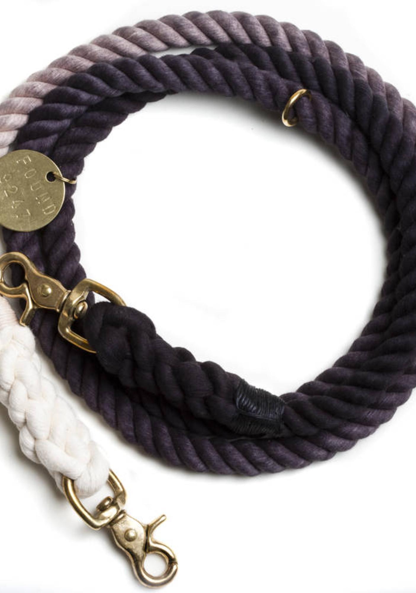 Ombre Fade Brass Dog Leash