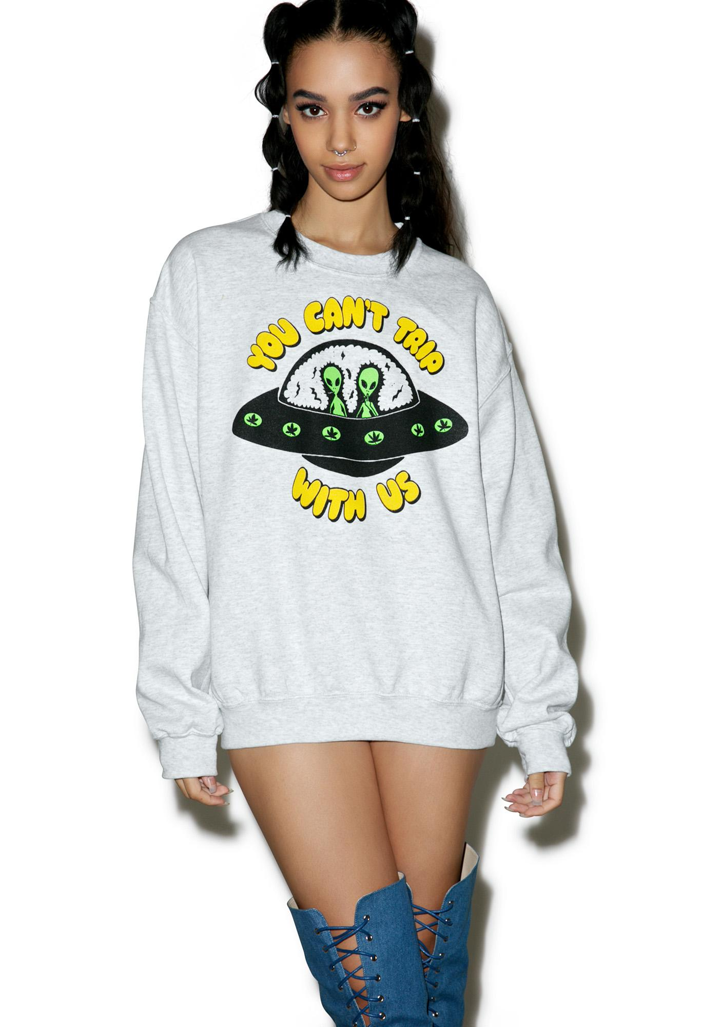 Burger And Friends You Can't Trip With Us Sweatshirt