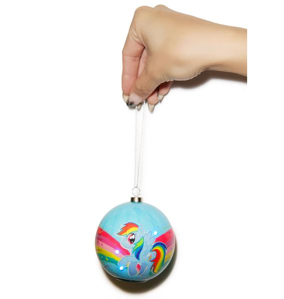 Rainbow Dash LED Ornament
