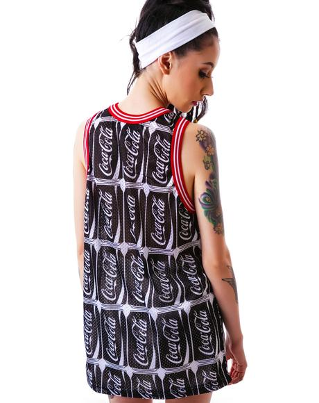 Coco-Cola Number Mesh Tank
