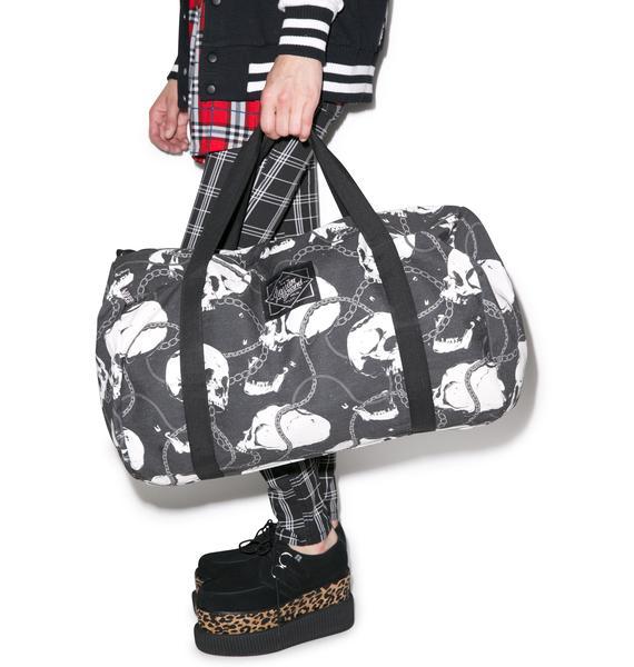 Laughing Skullz Duffle Bag