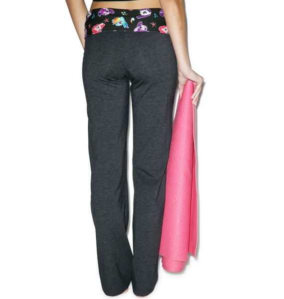 Undergirl Pretty Pony Yoga Pants
