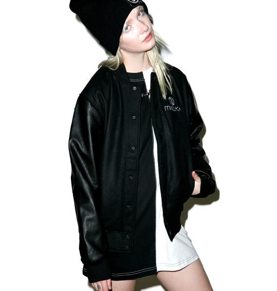 Long Clothing X Mishka Chain Varsity Jacket