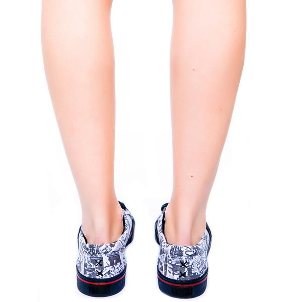 Iron Fist Duane Peters Broadway Repeat Low Top Sneaker