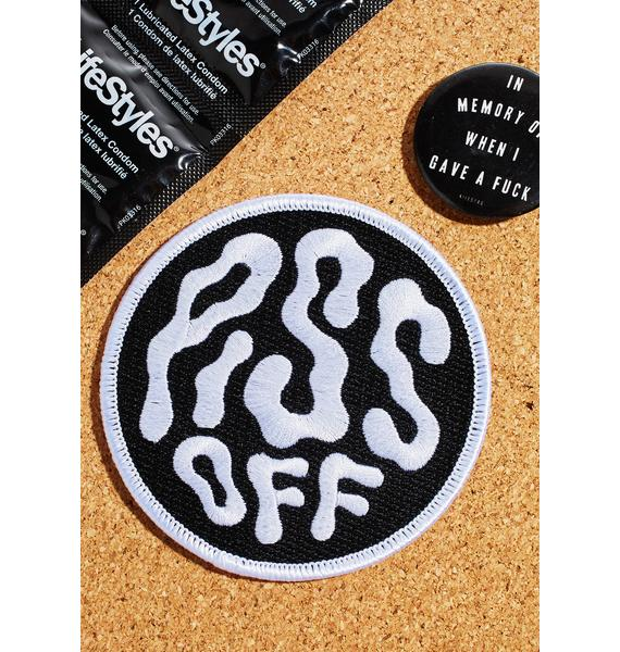 Killstar Piss Off Embroidered Patch