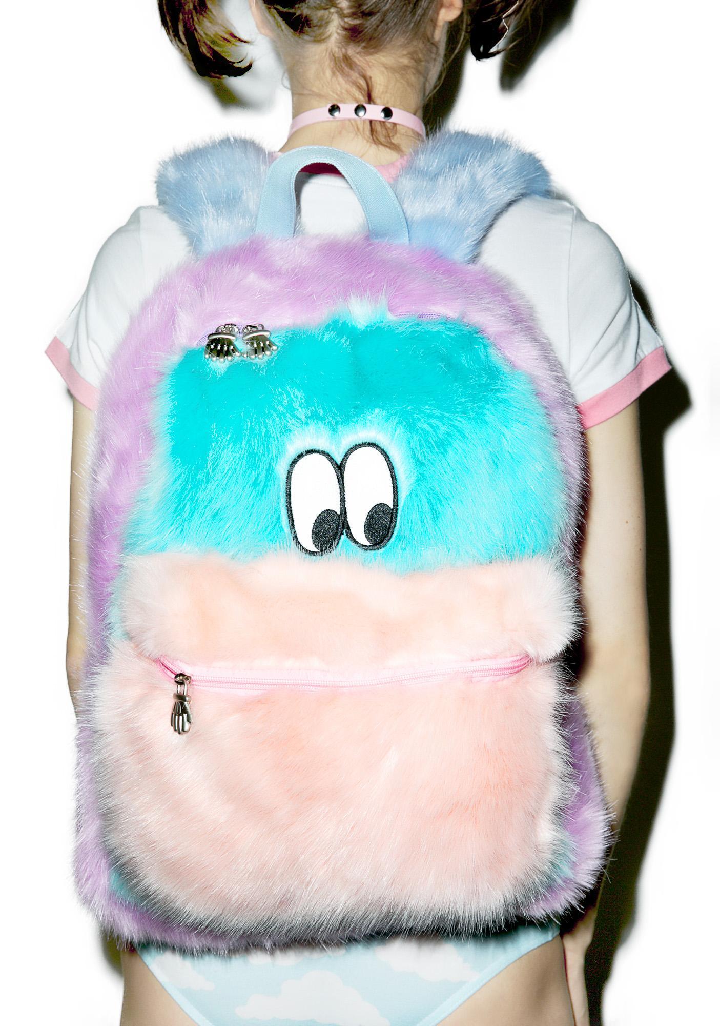 Lazy Oaf Fur Face Backpack