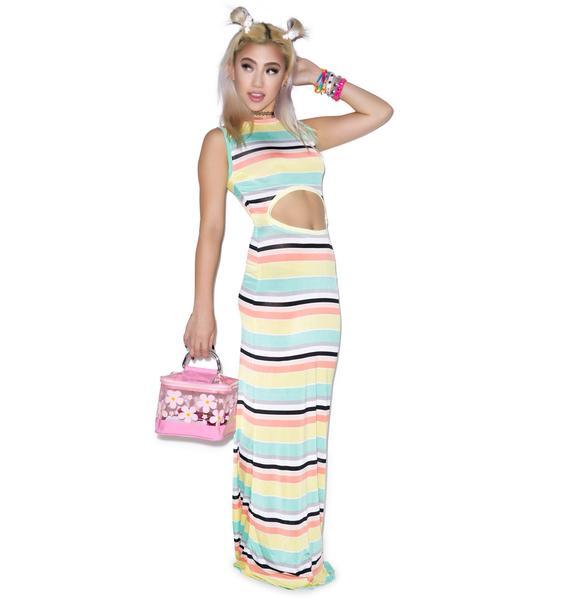 Mamadoux Toot Toot! Beep Beep! Maxi Dress
