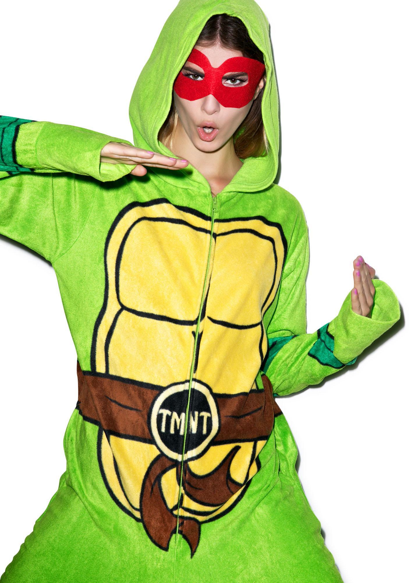 Undergirl Teenage Mutant Ninja Turtles Hooded Onesie
