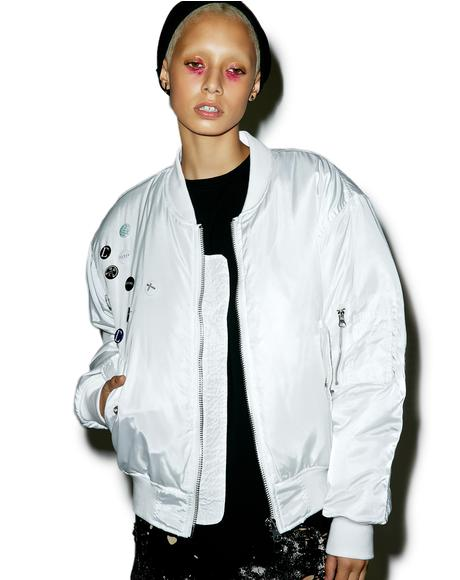 Pinned Up MA-1 Bomber Jacket