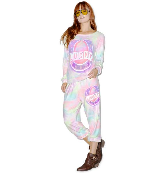 Lauren Moshi Lucky Sweatpants