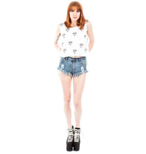 Wildfox Couture Little Diamond Charlie Tank