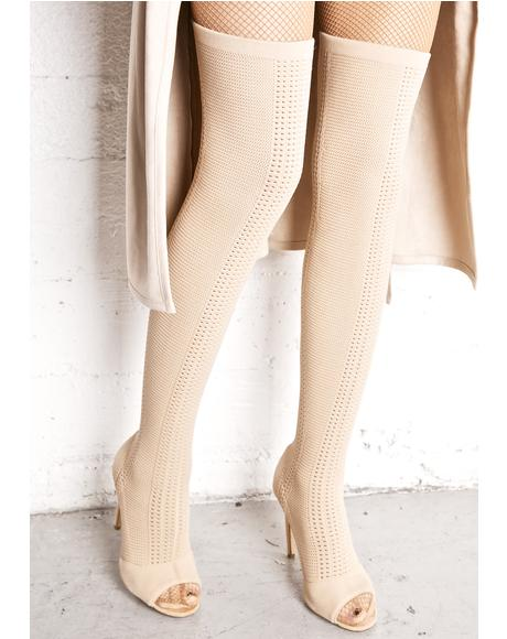 Myth Thigh-High Boots