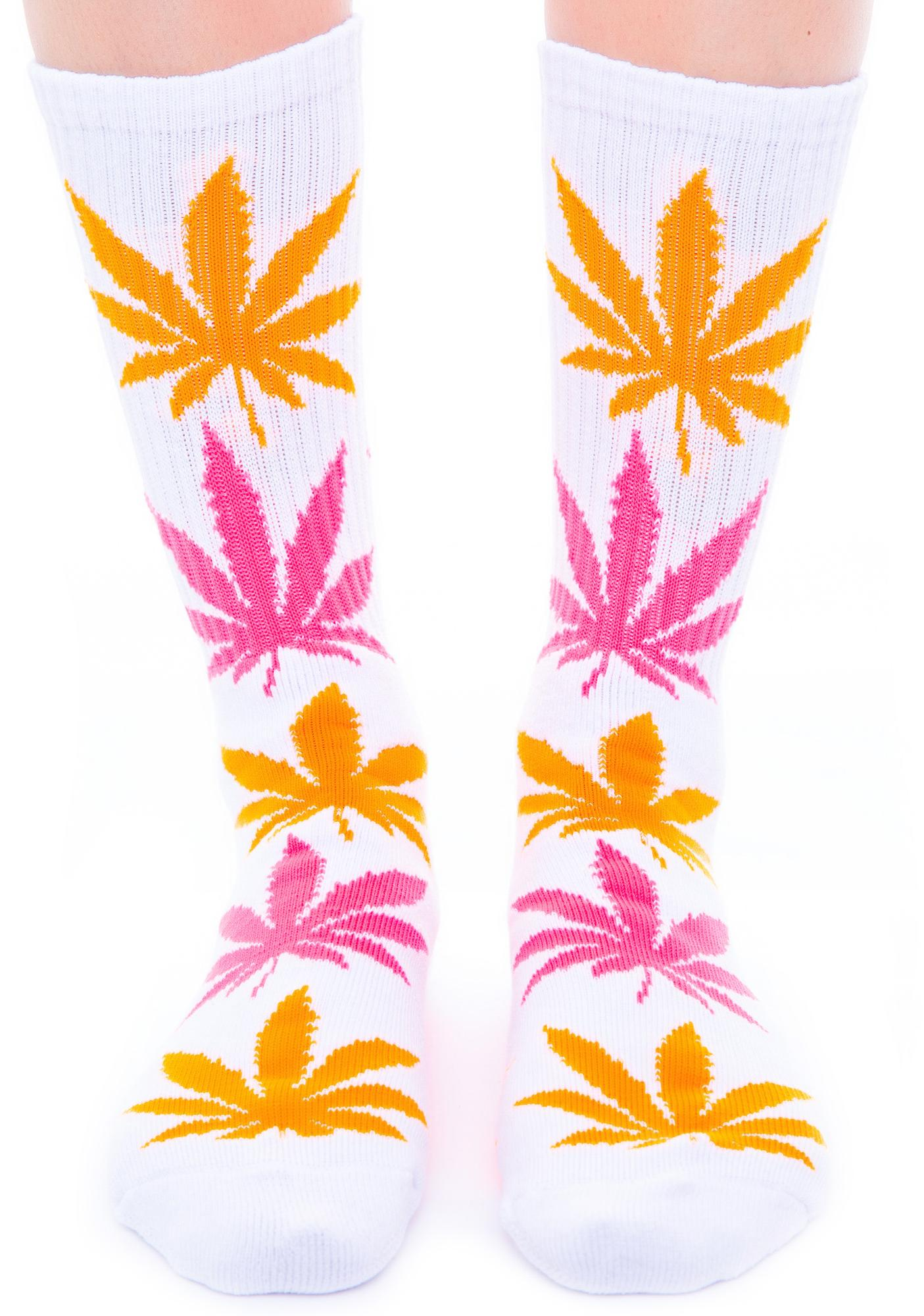 HUF Glow in the Dark Plantlife Sock